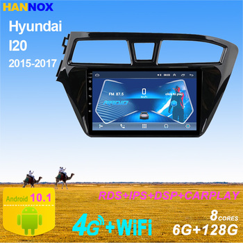 2 DIN Android Car Multimedia Player For Hyundai I20 2015-2018 GPS Navigation Stereo Car Radio DVD Player Autoradio DSP RDS OBD image