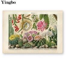 Cactus flower desert plant succulent Needlework 5d Diamond Painting kits Embroidery Mosaic Rhinestone Cross stitch