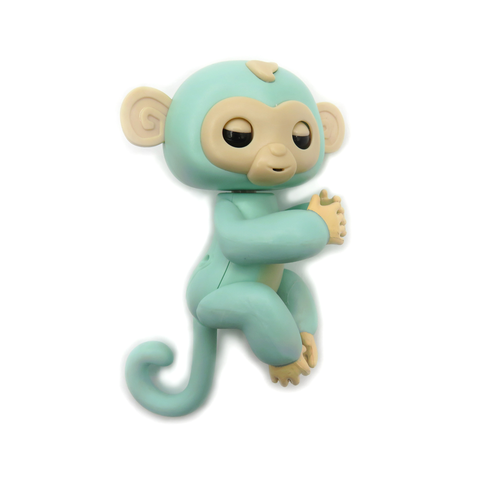 Flytec Electric Moving Finger Monkey With Music Sounds For Kids Study Partner