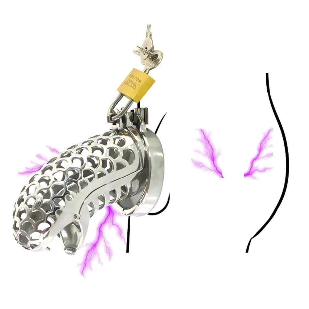 Male Penis Rings Snake Totem Male Chastity Device Cock Cage Chastity Lock Belt Stainless Steel Cock Rings Sex Toys For Men