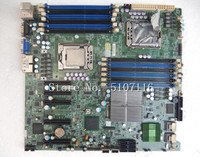High quality desktop motherboard for X8DT6 F Dual Server Board LGA1366 LSI SAS 2008 5520 Chipset  will test before shipping Motherboards Computer & Office -