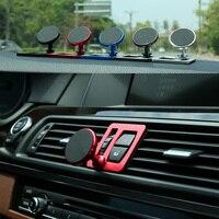 Auto Handy Halter Für BMW 5 Series F10 F11 Auto 360 Grad Vent Magnetische Halterung GPS Stand 518i 520i 525i Air Steckdose Montieren