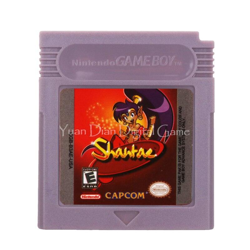 For Nintendo GBC Video Game Cartridge Console Card Shantae English Language Version