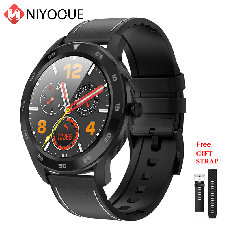 Fashion DT98 <font><b>Smartwatch</b></font> <font><b>IP68</b></font> <font><b>Waterproof</b></font> Bluetooth Call PPG Heart Rate Blood Pressure Monitor Smart Watch For Huawei Xiaomi image