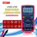 Цифровой вольтметр UT108 UT109  профессиональный автоматический мультиметр  ACDC Вольтметр постоянного тока амперметр  сопротивление  емкость  ...