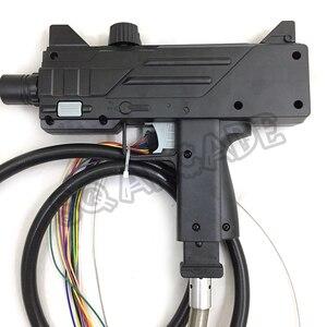 Image 4 - 2 szt. Dom zmarłych 4 pistolet symulator strzelania automat do gry plastikowy pistolet części na monety obsługiwany sprzęt rozrywkowy