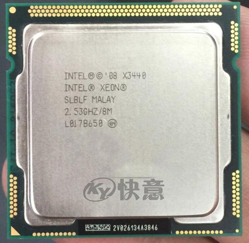 Intel Xeon X3430 X3440 X3480 I7 860S I7 870 I7 875K I7 880 LGA1156 CPU Processor