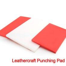 Leathercraft almofada de perfuração de borracha placa de plástico buraco de corte punch stamping ferramenta mesa mudo protetor esteira