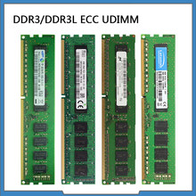 RAM DDR3 4GB 8GB 1600MHz 1333MHz İş İstasyonu belleği 1.35V / 1.5V ECC UDIMM PC3-12800E / PC3L-12800E ECC bellek
