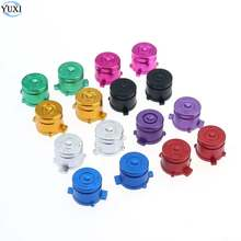 YuXi 4pcs/set Metal Bullet ABXY Button Joystick stick Caps Replacement Sony Playstation Dualshock 3 4 PS3 PS4 Gamepad Controller(China)