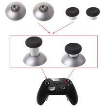 2 Pcs 3D Thumb Stick Grips Station Houder Gamepad Vervangende Onderdelen Game Accessoire voor Xbox Een Elite Draadloze Controller