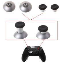 2 uds. 3D de empuñaduras de pulgar, reemplazo del soporte de la estación, piezas de mando a distancia, accesorio de juego para Xbox One Elite, controlador inalámbrico