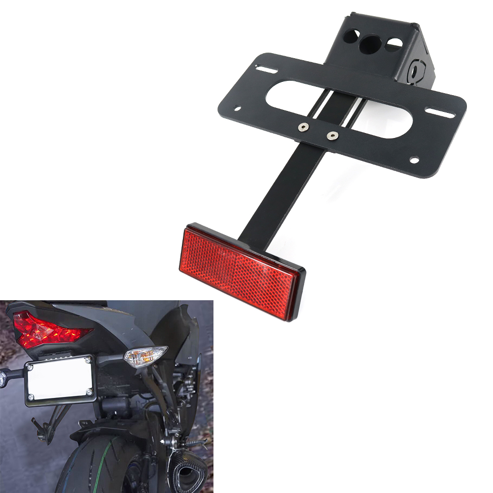 For Kawasaki Ninja ZX-6R ZX6-R 636 2019-2020 ZX6R Motorcycle Rear Tail Tidy Fender Eliminator Kit License Plate Holder Bracket(China)