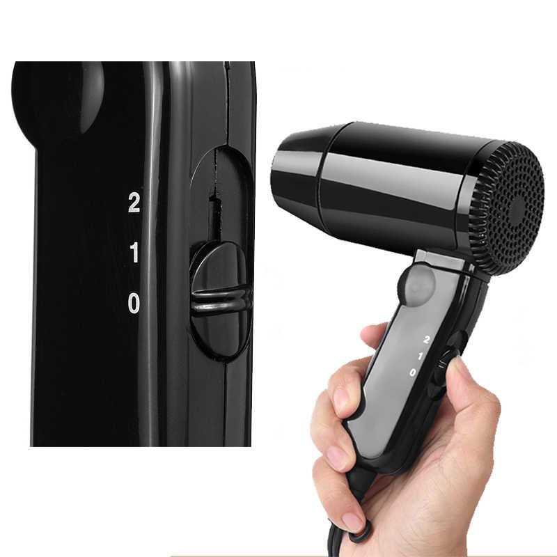 1 pc janela defloster carro secador de cabelo portátil quente/frio dobrável acampamento viagem secador cigarro isqueiro plug frete grátis porte