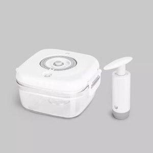 Image 5 - Youpin Vacuum Crisper przechowywanie próżniowe blokada opóźnienia świeża odporność na wilgoć smak materiał kontaktowy do żywności pojemnik Box 6 modeli