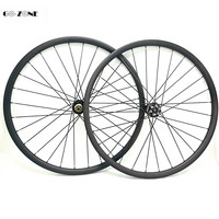 29 inch asymmetric 33x 30 mm tubeless bike carbon wheels novatec D791SB D792SB boost 110x15 148x12 mtb disc brake hubs wheelset