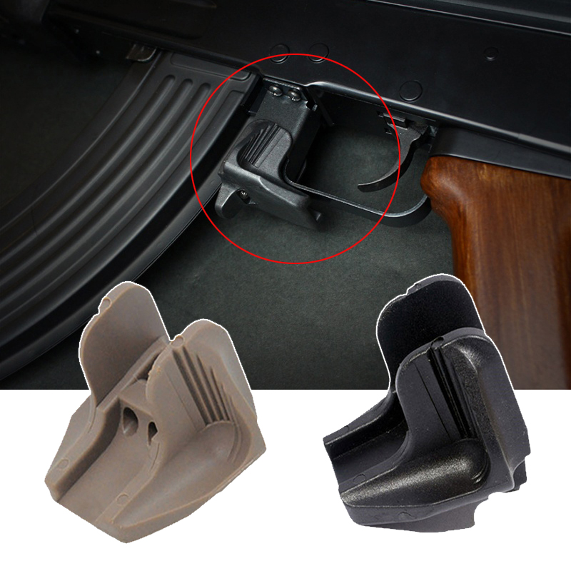 Tactical AK74 Saiga Vepr Rifle Accessory AKMR FOR AK  Softair Airsoft Polymer Magazine Release Extension