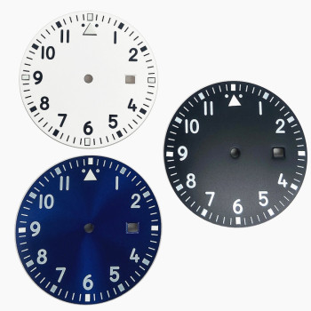 Nowy 1 sztuk zegarek tarcza tarcza tarcza średnica 33 5mm miyota 8215 8200 2836 2813 2424 świecąca tarcza automatyczny ruch mechaniczny tanie i dobre opinie TONY Nowy bez tagów ROUND Zegarek twarze Ze stopu