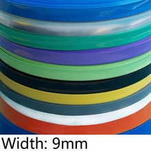 Heat-Shrink-Tube Cable-Sleeve Wire Wrap-Protection Insulated-Film Lithium-Battery 9mm