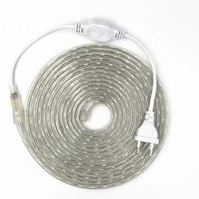 LED Strip Light AC 220V SMD 5050 Flexible LED Tape 60LEDs/m Ribbon for Living Room 1M 2M 3M 4M 5M 6M 8M 10M 12M 15M 20M 22M 25M