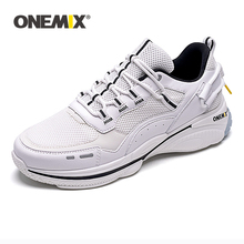 ONEMIX Men Running Shoes Lightweight Retro Sports Shoes Trail Trainers Breathable Men's Classic Reflective Outdoor Sneakers men women running shoes classic mesh breathable lightweight sports sneakers athletic trainers