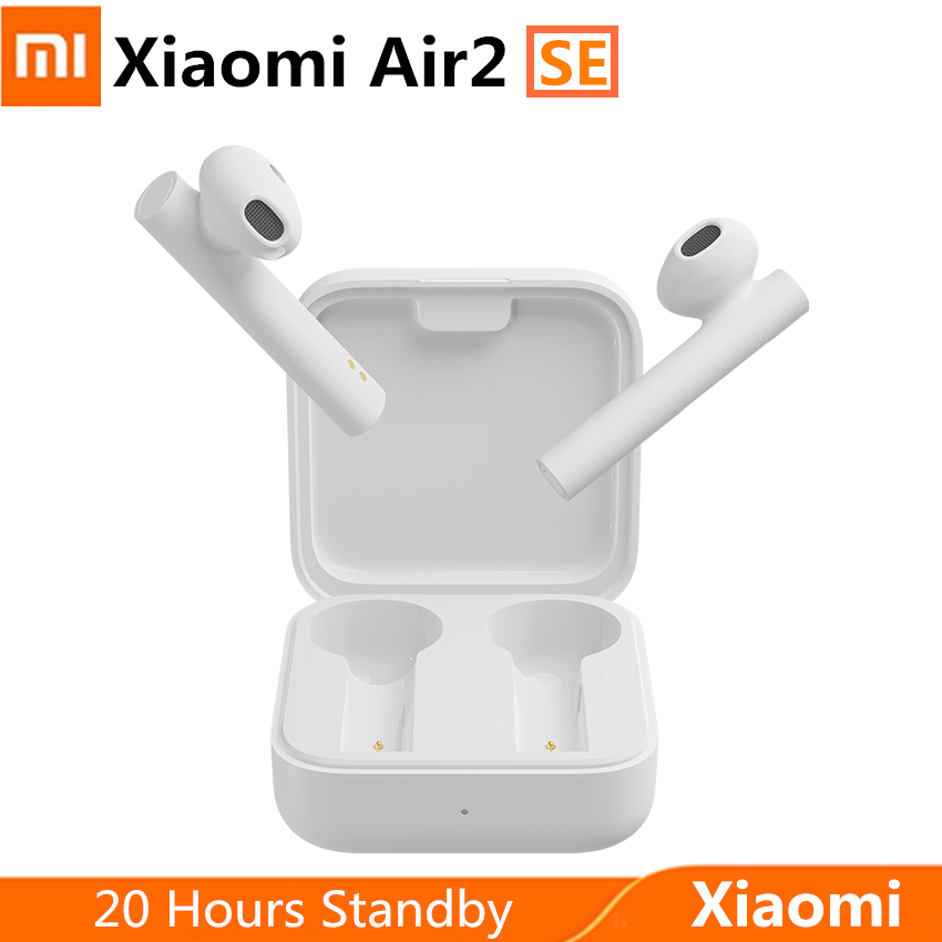 Original Xiaomi Air 2 SE Wireless Earphone Bluetooth Headset <font><b>TWS</b></font> AirDots Pro headphone <font><b>MI</b></font> Air 2 SE 20H Standby with microphone image