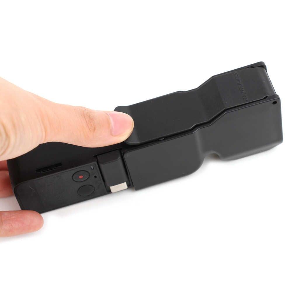 ل DJI OSMO جيب الاكسسوارات يده Gimbal واقية حالة عدسة كاب واقي للشاشة غطاء ل DJI OSMO جيب كاميرا