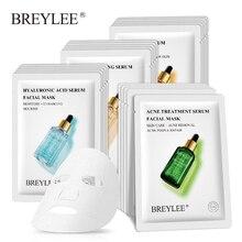 BREYLEE maska kolagenowa maska twarzy Retinol leczenie trądziku Serum wybielanie nawilżający pielęgnacja skóry Anti Aging witamina C
