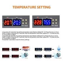 1 шт 12v/24v/220v stc 3028 Температура Управление; Термостат