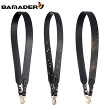 BAMADER Bag Strap Leather Shoulder Bag Strap Fashion Women Handbag Accessory Designer Bag Strap Stars Firework Shoulder Strap