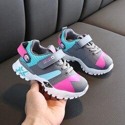 ULKNN zimowe dziecięce trampki nowe dziecięce sportowe buty oddychające dziewczęce muchowe tkackie buty dla chłopców w Trampki od Matka i dzieci na