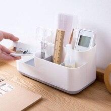 Makeup Storage Box Cosmetic Organizer Large Capacity Display Case Brush Lipstick Holder Desk Bathroom