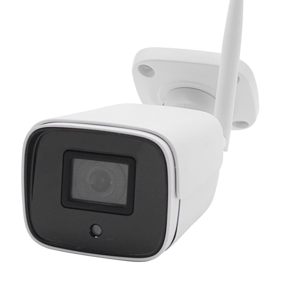 IP Camera  IR Night Vision SD Card Wireless Camera 2MP Audio Record Bullet Onvif CCTV Outdoor Surveillance ICSee Optional 5MP
