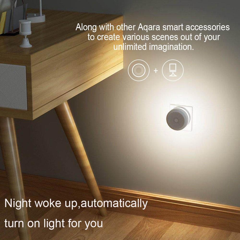 lowest price Xiaomi Aqara Smart Home Kits Gateway Hub Zigbee Wireless Switch Relay Human Humidity Water Door Sensor Remote Control Mi Home