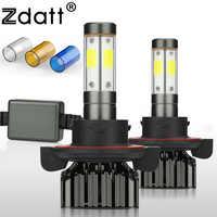 Zdatt H4 Led Bulb 9008 H13 Led Headlights 9004 9007 100W 12000LM 12V 24V Car Fog Light Auto 3000K 6000K 8000K Ice Lamp for Cars