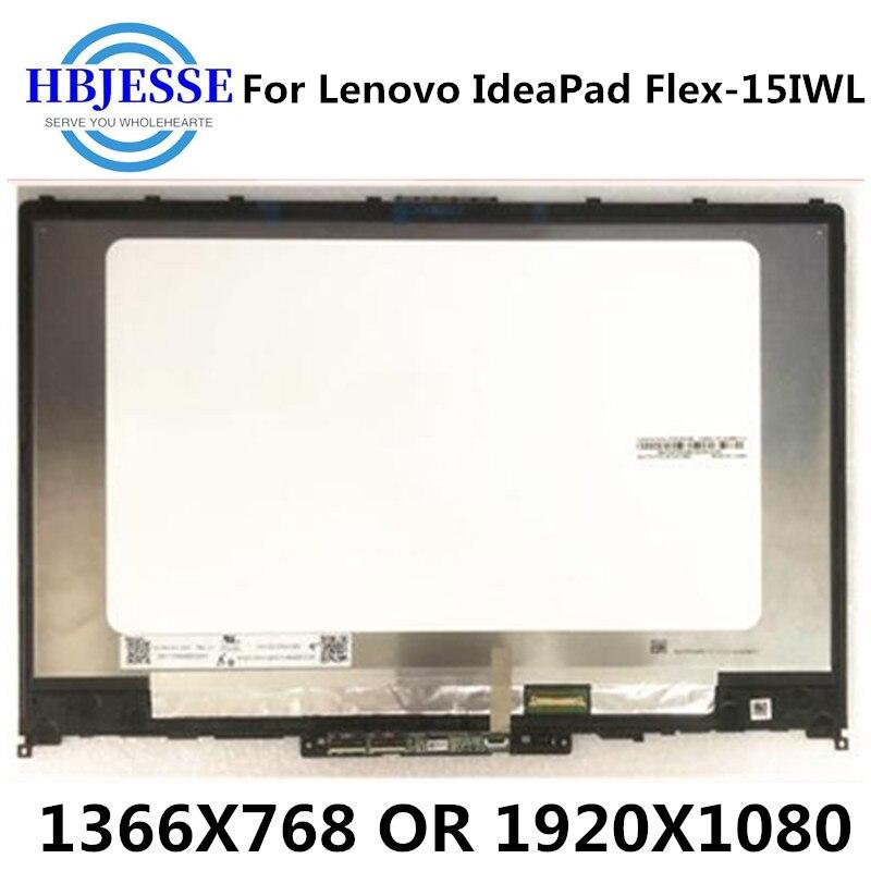 ЖК-экран FHD, панель дисплея, сенсорный дигитайзер, стекло в сборе + рамка 5D10S39565 5D10S39566 для Lenovo IdeaPad Flex-15IWL 81SR