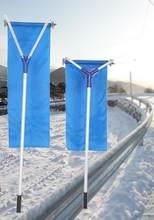 193-640 см воры для снега, телескопическая система для удаления снега-30 градусов, регулируемая ткань, противоскользящая пружина для удаления с...