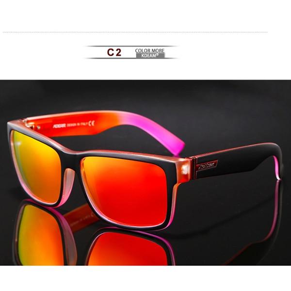 C2 Black Red Frame