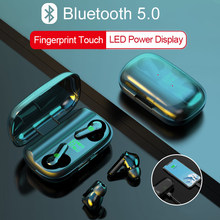 Touch control TWS wireless headphones fone audifonos bluetooth earphone 2200mAh Charging Box earbuds for oppo honor redmi phone
