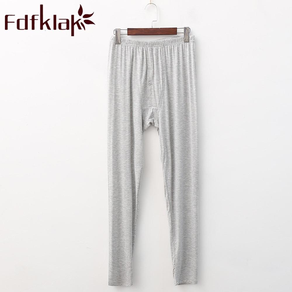 Fdfklak Men's Pajama Pants Modal Spring Autumn Long Sleeping Pants Men Pajamas Lounge Wear Home Pants Plus Size XL-5XL