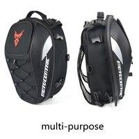 Waterproof Helmet Storage Bag Moto Motorcycle Tail Bag Backpack Motorcycle Bag Leisure Travel High Quality For Women Men Baggage