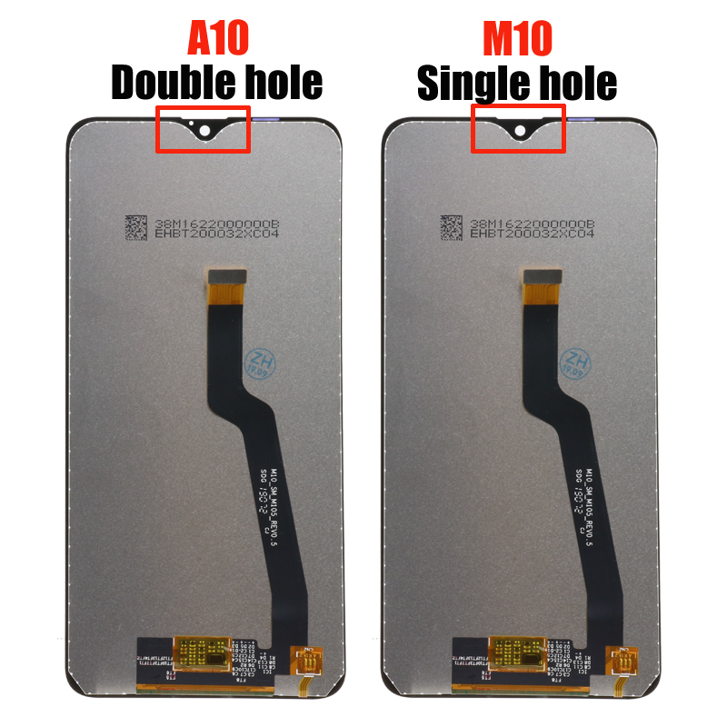 """Image 2 - 10 pcs/lot Original 6.2"""" LCD For Samsung Galaxy A10 A105 A105F SM A105F LCD Display Screen replacement Digitizer AssemblyMobile Phone LCD Screens   -"""