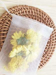 Empty-Tea-Bag Bag-Paper SEAL-FILTER String Teabags Herb Nylon-Material Heal 100pcs/Lot
