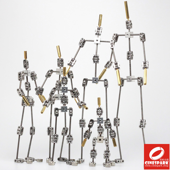 DIY not-Ready-made animation studio armature kit for stop motion puppet of human body skeleton - sale item Camera & Photo