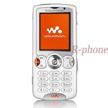 จัดส่งฟรี Refurbished Sony Ericsson W810 บลูทูธโทรศัพท์มือถือ 2.0MP ปลดล็อก W810i โทรศัพท์มือถือ