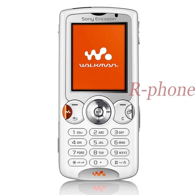 شحن مجاني مجدد سوني إريكسون W810 بلوتوث الهاتف المحمول 2.0MP مقفلة W810i الهاتف الخليوي