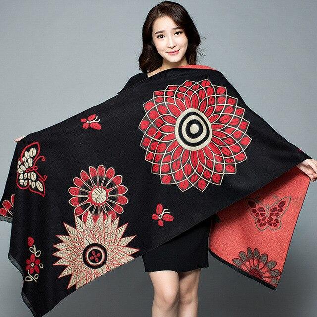2019-New-Shawl-Women-s-Thickening-Warm-Pashmina-Cashmere-Scarf-Autumn-winter-Oversize-Soft-scarf-Shawl (8)