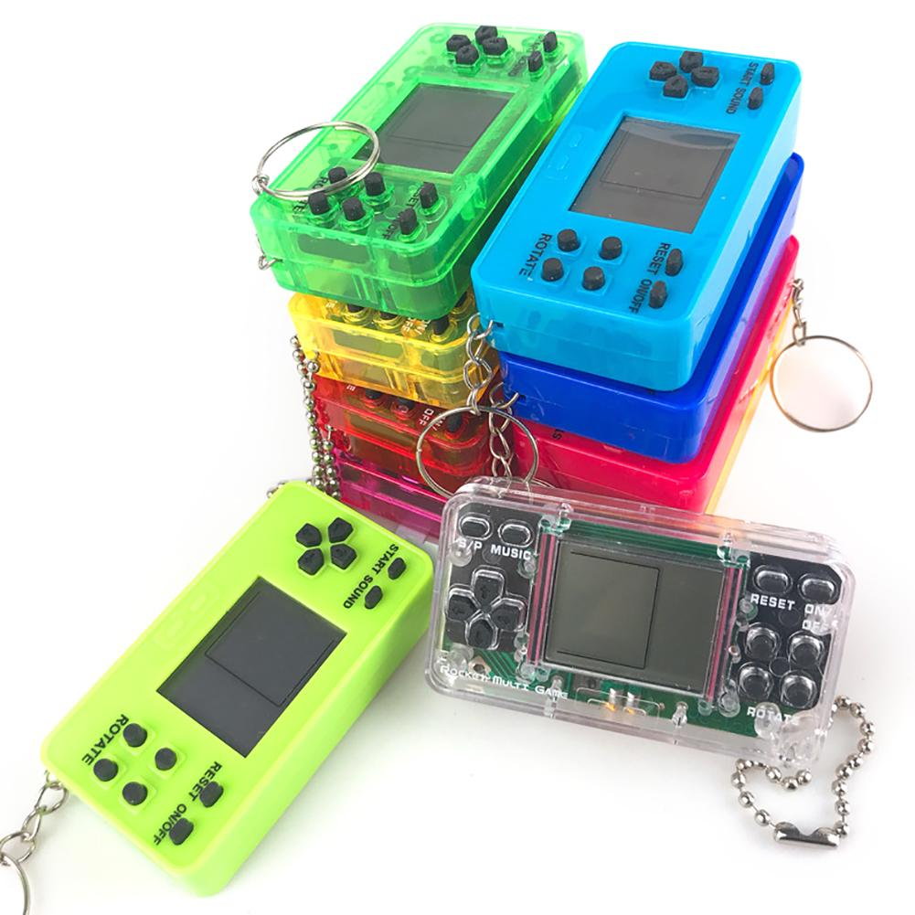 Horizontal Russian Game Console Hand-held Game Console Mini Tetris Game Console