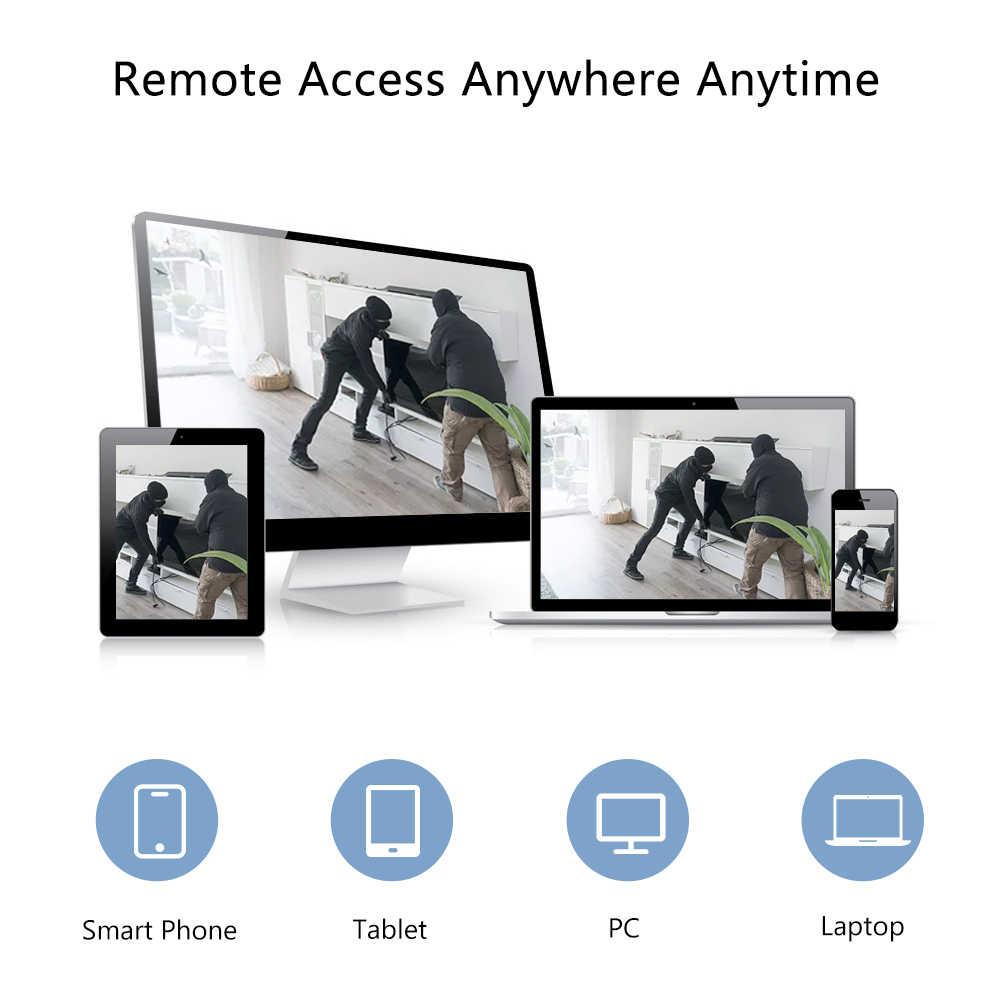 8/4CH 1080P اللاسلكية نظام الدائرة التلفزيونية المغلقة عدة واي فاي nvr 4/2 قطعة 1080P 2MP كاميرا ip لاسلكية دعم التحكم عن بعد فيديو طقم مراقبة