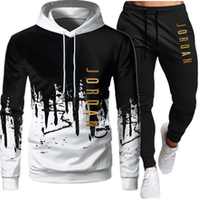 Pullover Hoodie Suit Pants Sportwear 2pieces-Sets Ropa Casual Hombre Size-S-4xl